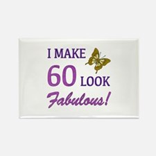 I Make 60 Look Fabulous! Rectangle Magnet (10 pack