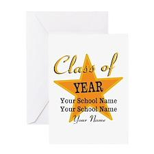 Custom Graduation Greeting Card