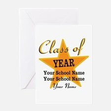 Custom Graduation Greeting Card