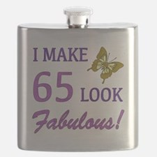 I Make 65 Look Fabulous! Flask