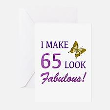 I Make 65 Look Fabulous! Greeting Cards (Pk of 20)