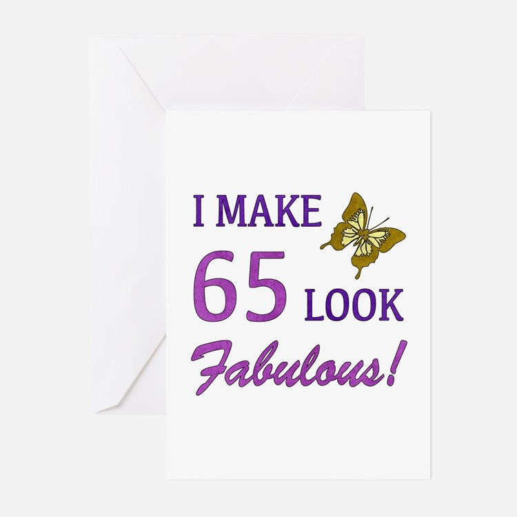 I Make 65 Look Fabulous! Greeting Cards (Pk of 20)