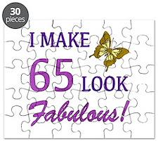 I Make 65 Look Fabulous! Puzzle