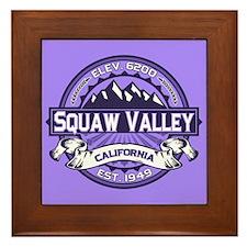 Squaw Valley Lavender Framed Tile