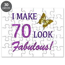 I Make 70 Look Fabulous! Puzzle