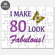 I Make 80 Look Fabulous! Puzzle