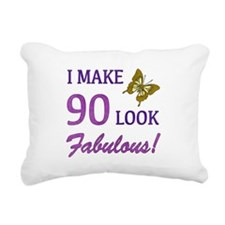 I Make 90 Look Fabulous! Rectangular Canvas Pillow