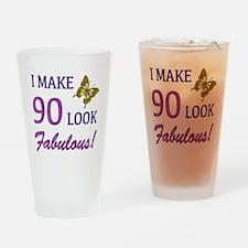 I Make 90 Look Fabulous! Drinking Glass
