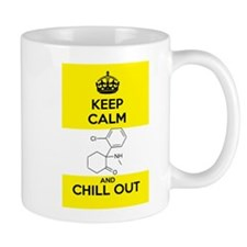 Keep Calm and Chill Out Ketamine Small Mug