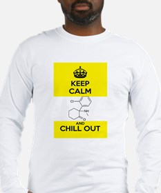 Keep Calm and Chill Out Ketamine Long Sleeve T-Shi