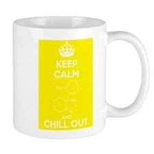 Keep Calm and Chill Out White Ketamine Small Mug