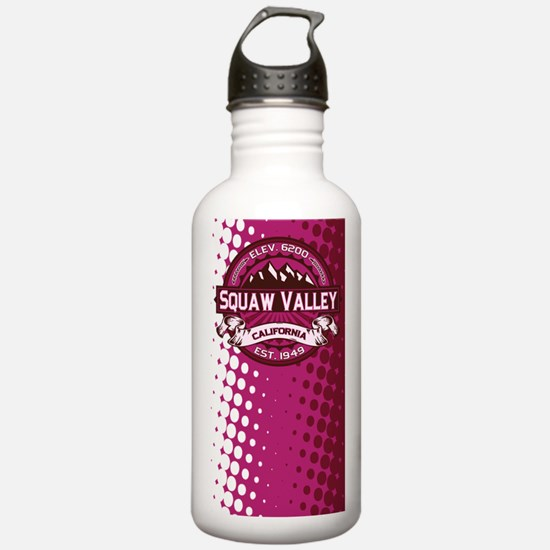 Squaw Valley Raspberry Water Bottle