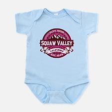 Squaw Valley Raspberry Infant Bodysuit