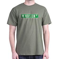 W Houston Str., New York - USA T-Shirt