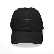 KANSAS IN MARIJUANA FONT Baseball Hat