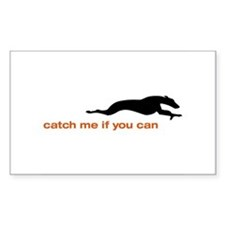Catch me if you Can Whippet Decal