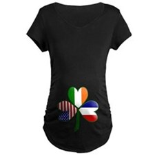 Shamrock of France Belly T-Shirt