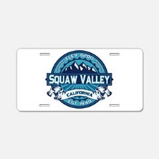 Squaw Valley Ice Aluminum License Plate
