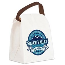 Squaw Valley Ice Canvas Lunch Bag