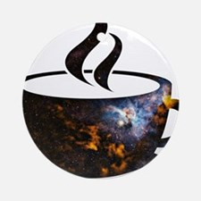 Cosmic Coffee Cup Ornament (Round)
