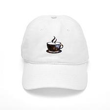 Cosmic Coffee Cup Baseball Baseball Cap