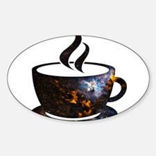 Cosmic Coffee Cup Decal