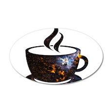 Cosmic Coffee Cup Wall Decal