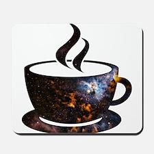 Cosmic Coffee Cup Mousepad