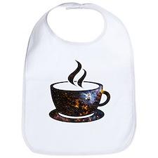Cosmic Coffee Cup Bib