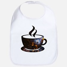 Cosmic Coffee Cup Bib