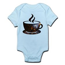 Cosmic Coffee Cup Body Suit