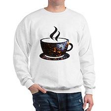 Cosmic Coffee Cup Sweatshirt