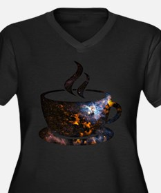 Cosmic Coffee Cup Plus Size T-Shirt