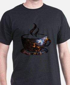 Cosmic Coffee Cup T-Shirt