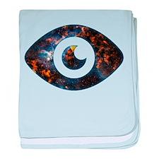 Cosmic Eye baby blanket