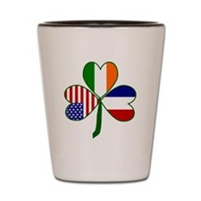 Shamrock of France Shot Glass