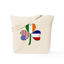 Shamrock of France Tote Bag
