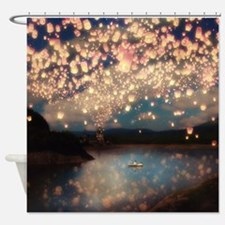 Cute Make a wish Shower Curtain