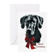 Great Dane Christmas Greeting Cards (Pk of 20)