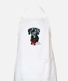 Great Dane Christmas Apron