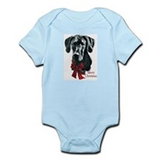 Great Dane Christmas Infant Bodysuit