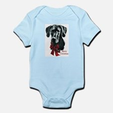 Great Dane Christmas Infant Bodysuit