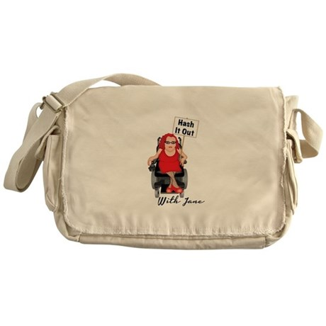 HASH IT OUT WITH JANE Messenger Bag
