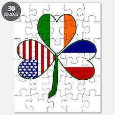 Shamrock of France Puzzle