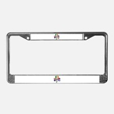 Shamrock of France License Plate Frame