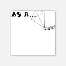 AS A KITE Sticker