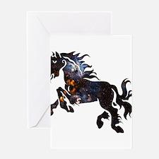 Cosmic Horse Greeting Card