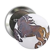 "Textured Horse 2.25"" Button"