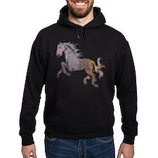 Textured Horse Hoodie