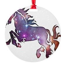 Galaxy Horse Ornament